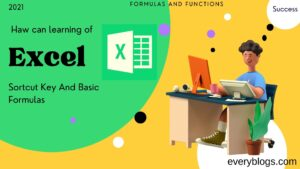 Excel Function Shortcut Keys